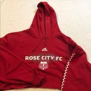 adidas Other - Cropped rose city hoodie